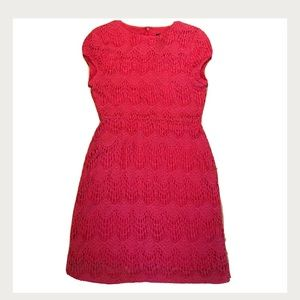 MINKPINK Crochet Coral Dress, Sz XS, NWT